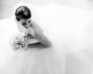 black white sweet wedding (5)
