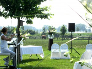 chic garden wedding (8)
